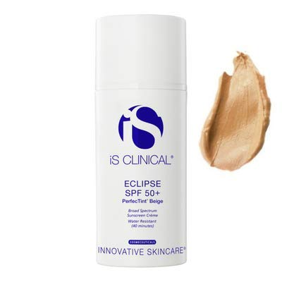 iS CLINICAL Eclipse SPF 50 Plus Perfectint Sunscreen, Beige, 3 Oz