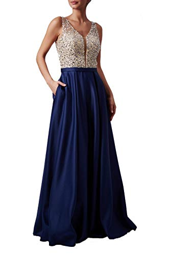 Marine mc181334 Jewelled Tasche Satin Kleid