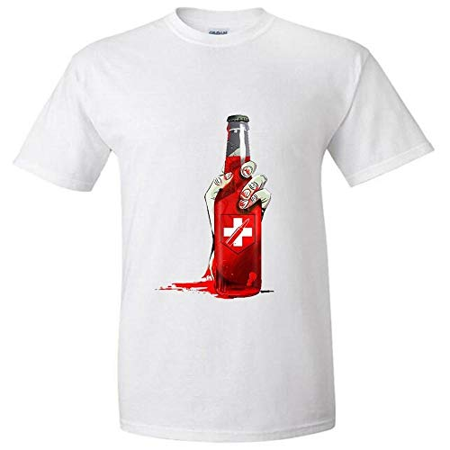 New Juggernog Bottle of Blood Fashion Cotton O-Neck Tshirts Fashion Summer Style Fitness Brand T Shirts Size S-XXXL
