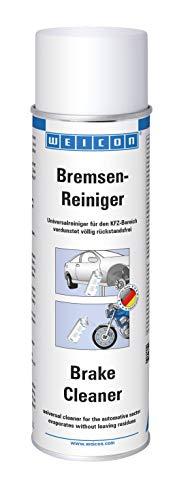 WEICON Bremsenreiniger 500 ml | Transparenter Universalreiniger für Kfz |Bremsbeläge an Auto, Motorrad, Fahrrad reinigen
