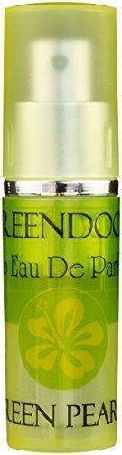 Greendoor Eau de Parfum (EdP) Green Pearls aus Bio Alkohol, Natur Parfüm, leichter fröhlicher Duft für Damen, Taschenzerstäuber mit Vaporisateur, natürlicher Damenduft