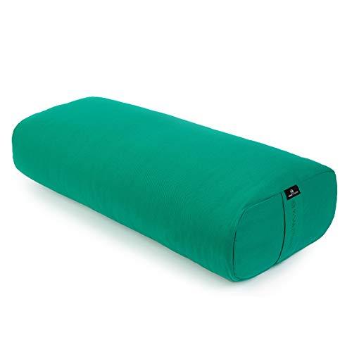 Yoga Studio European Rectangular Lightweight Bolsters (Jade Green)