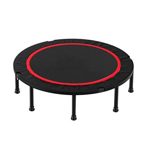 Trampoline opvouwbare fitness geruisloze vering – met randbescherming – maximale belasting 150 kg, geschikt voor kinderen en volwassenen.