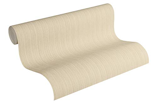Michalsky Living Vliestapete Dream Again Tapete Unitapete 10,05 m x 0,53 m beige gelb creme Made in Germany 364995 36499-5