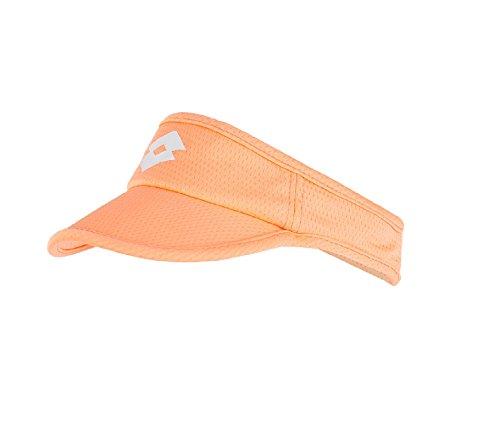 Lotto - Tennis-Sonnenblenden für Damen in Orange, Größe 1