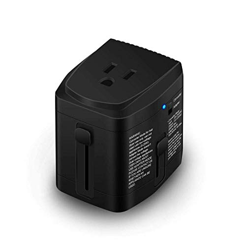All in ONE World Travel Plug Power Adapter 2000 Watts Voltage Converter Step...