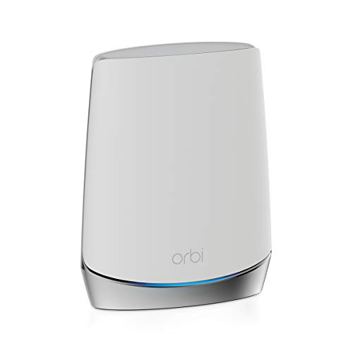 NETGEAR Orbi Whole Home Tri-Band WiFi 6 Mesh WiFi Satellite (RBS750) – Works with Your Orbi WiFi 6 Router, add up to 2,500 sq. ft, speeds up to 4.2Gbps | 11AX Mesh AX4200 WiFi