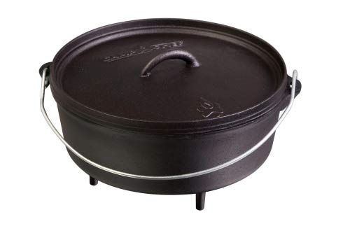 Camp Chef Classic Dutch Oven Set Schmortopf aus Gusseisen Grill BBQ Outdoor Auswahl Classic Dutch Oven SDO10