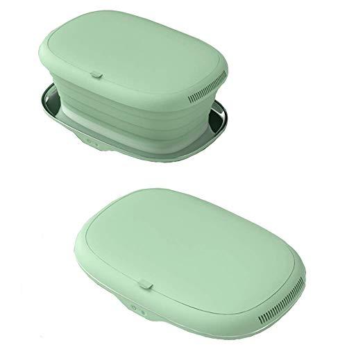Silent Portable Underwear Desinfection Box, Opvouwbare droogbox, UV-sterilisatiedroger, Sterilisatieondergoed op hoge temperatuur, Ondergoed Kleine droogbox