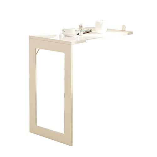 Kapige muur gemonteerd druppel blad vouwtafel, MDF kleine appartement ruimte Saver keuken eettafel, moderne stijl opvouwbare bureau