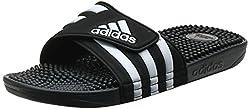 professional Adult Adidas Unisex Adidas Foil, Black / White / Black, 10 M US