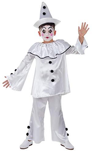 Banyant Toys Disfraz Payaso Pierrot 10-12 aos