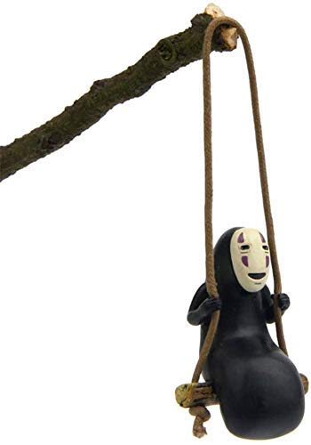 No Face Man Action Figure Swing Anime...
