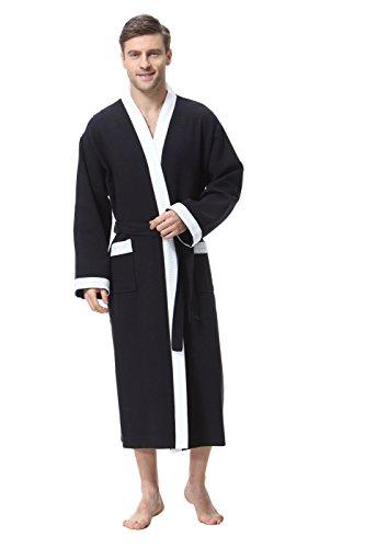 COSMOZ Gofre Bata Albornoz de Estilo Kimono elaborada en