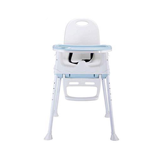 SZXJJ Portable Big Kids Enfants Table à Manger Pliable Salle à bébé Chaise réglable épaissie avec Roue Haut Bas Intérieur (Color : A)