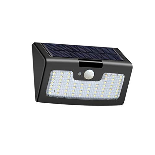 TXTC Solarlampen voor aan de muur met bewegingssensor, waterdicht, voor de voordeur, achtertuin, stappen, garage, tuin