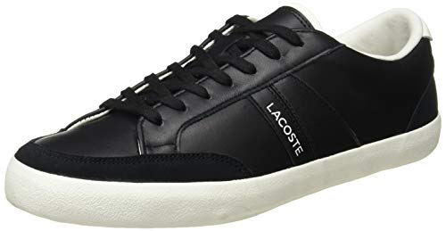 Lacoste Coupole 0120 1 CMA, Zapatillas Hombre, Noir Blk Off Wht, 44 EU