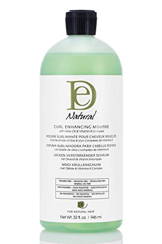 Design Essentials Curl Enhancing Mousse 32oz (REFILL BOTTLE) + Style Guide