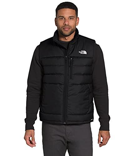 The North Face Men s Aconcagua Insulated Vest - Sleeveless Puffer Vest for Men, TNF Black, L
