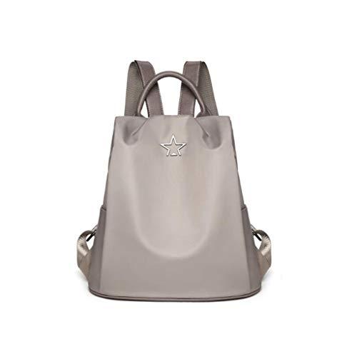 ZJEXJJ schoudertas voor dames, omhangtas, trendy, wild grote capaciteit, tas voor diefstal, vrije tijd, reistas Eén maat grijs