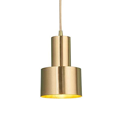 Hobaca E27 Oro Cobre Hierro de lujo Lámpara colgante nórdica moderna LED Lámpara colgante Lámparas para las luces del sitio de la cocina de la isla de la cocina