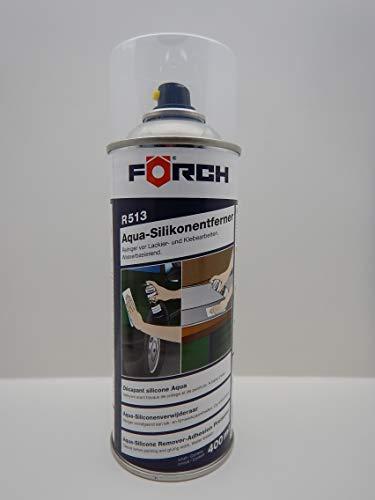 Förch R513 Aqua Dissolvant pour silicone à base d'eau pour nettoyer les surfaces avant les travaux de peinture et de collage 400 ml