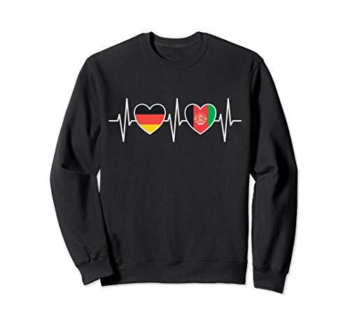 Deutschland und Afghanistan Afghanisch Afghan Fahne Flaggen Sweatshirt