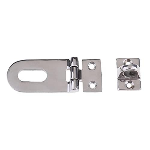 YUTRD ZCJUX Candado de Seguridad de Seguridad de Acero Inoxidable Cierre de Puerta Cierre de Puerta Pestillo para gabinete Marino, cajón, cajón - Astilla