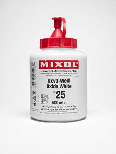 500ml MIXOL Universal-Abtönkonzentrat # 25 Weiß