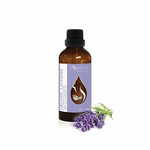 Biologische Lavendel (Lavandula angustifolia) 100% natuurlijke etherische olie (50 ml) topkwaliteit uit het eigen familiebedrijf, therapeutische kwaliteit, voor eigen cosmetica, lotions etc. 50 ml