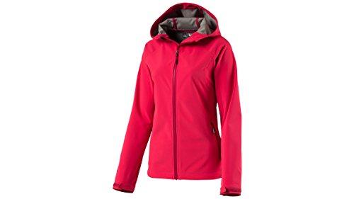 McKinley Damen Wander Freizeit Softshell Jacke Kara II pink, Größe:42