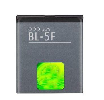 Bateria Compatible con BL-5F para Nokia N93/N93i/N95 4GB/N96/E62/E65 | 6210/6710 Navigator |