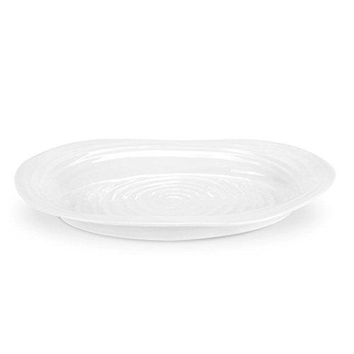 Portmeirion Home & Gifts Assiette ovale en porcelaine blanche 0,02 x 0,02 x 0,02 cm