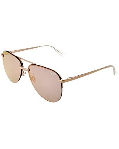 Quay The Playa Pink/Gold Zonnebril 9343963010015