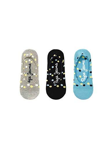 Pepe Jeans Vania Socken für Damen, mehrfarbig, 3 Stück, Mehrfarbig 35