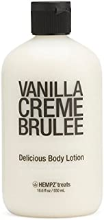 Hempz Treats Body Lotion, 18.6 Oz (Vanilla Creme Brulee)