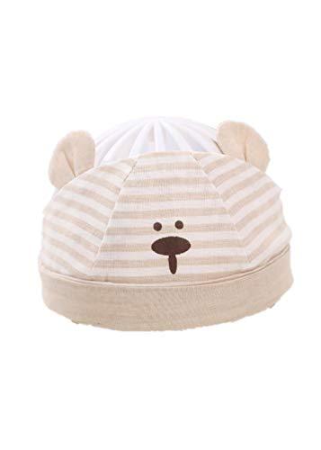 YANHUIGANG Chapeau de Plage Chapeau Summer Cute Super Cute Thin cotton-38-43cm_One Size_White