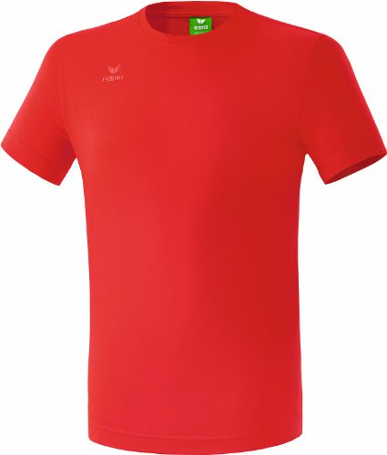 erima Kinder Teamsport T-Shirt, Rot, 128