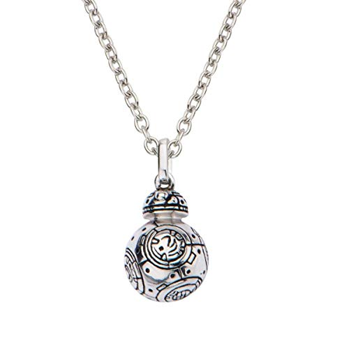 Star Wars: The Force Awakens BB-8 18' Sterling Silver 3D Pendant Necklace