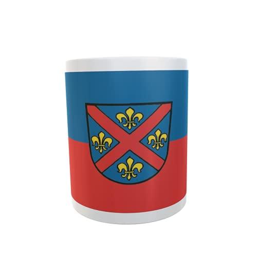 U24 Tasse Kaffeebecher Mug Cup Flagge Ellwangen (Jagst)