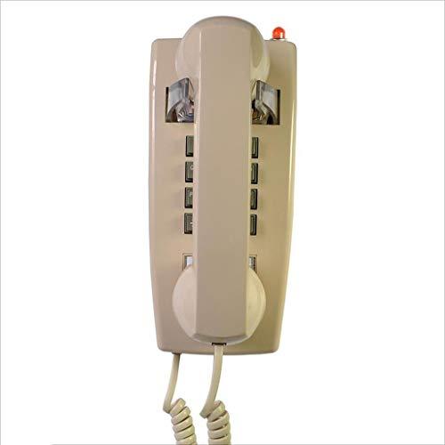 buenos comparativa Teléfono retro Teléfono fijo de pared en hotel Familia Hotel Teléfono con pantalla Teléfono… y opiniones de 2021