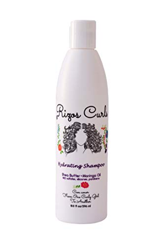 Rizos Curls Hydrating Shampoo. Gently cleanses & hydrates hair without over drying. Made with...