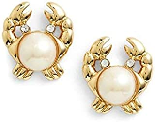 Kate Spade New York Make A Splash Crab Stud Earrings by Kate Spade New York