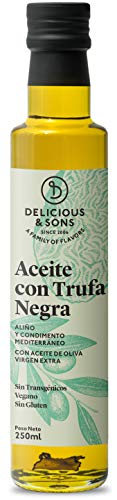 Delicious & Sons Aceite de Trufa Negra 250ml
