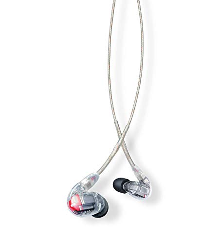 Shure SE846-CL Sound Isolating Earphones with Quad High Definition...