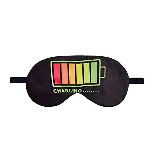 Ototon Anti-Müdigkeit-Schlafmaske, kreatives Laden-Motiv, Augenschutz, Anti-Licht, Nacht-Band, zum Schlafen