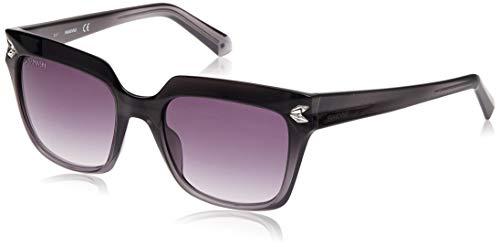 Swarovski SK-0170-20B Gafas de sol, Gris, 51 para Mujer