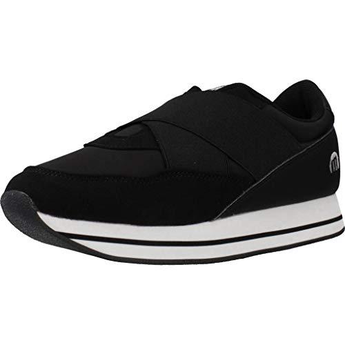 MTNG Attitude Damen 69669 Sneakers, Schwarz (Soft/Nylonka Negro C47508), 40 EU