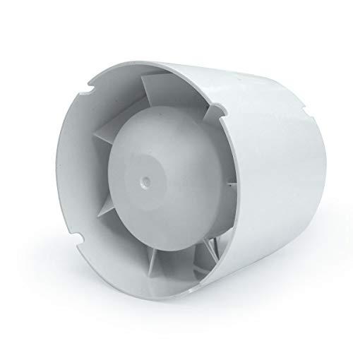 VENTS Extractor de Aire en línea Helicoidal VKO1 107 m³/h (100mm)
