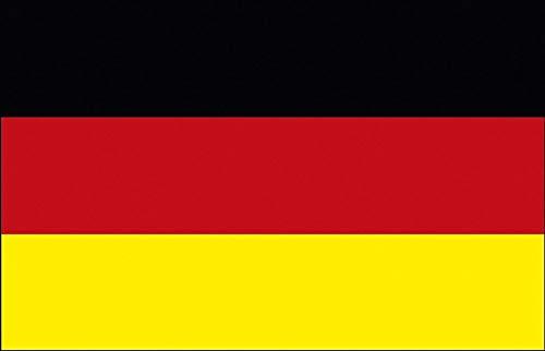 Deko-Länderflagge - Deutschland - Gr. ca. 150 x 90 cm - 07800 - Trendflagge, Länderflagge mit Ösen
